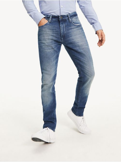 Jeans-de-corte-slim-de-forma-conica-Tommy-Hilfiger