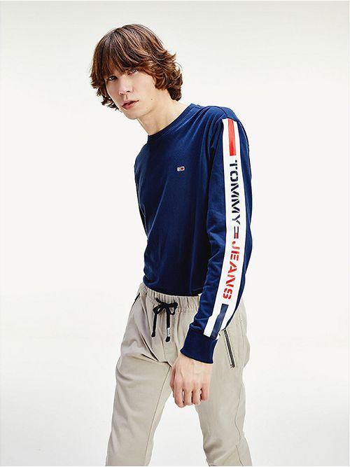 Camiseta-de-manga-larga-con-logo-Tommy-Hilfiger