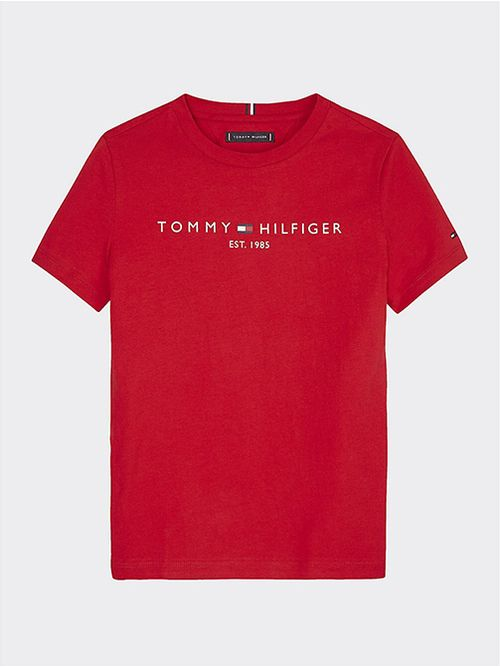 Camiseta-Essential-1985-de-algodon-organico-Tommy-Hilfiger