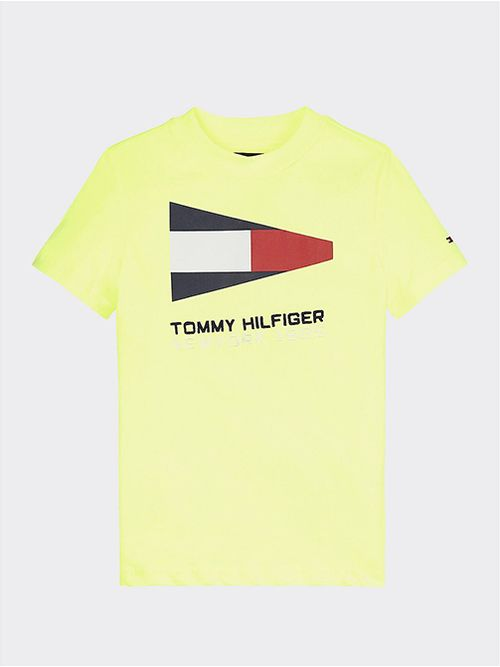 Camiseta-de-algodon-organico-con-logo-nautico-estampado-Tommy-Hilfiger
