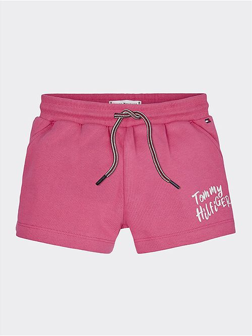 Shorts-de-puro-algodon-con-logo-grafico-Tommy-Hilfiger