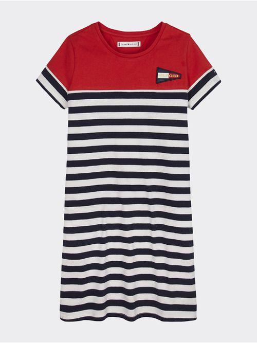 Vestido-camiseta-de-rayas-Tommy-Hilfiger