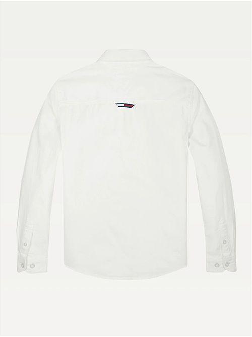 Camisa-en-puro-algodon-de-cuello-con-botones-Tommy-Hilfiger