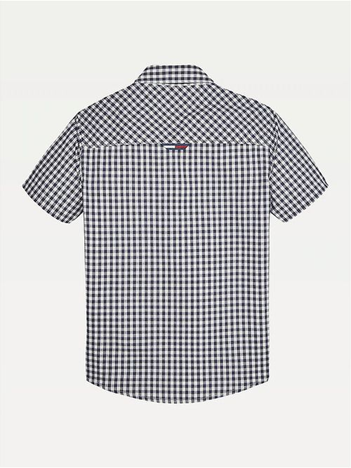 Camisa-de-manga-corta-con-cuadros-Vichy-Tommy-Hilfiger