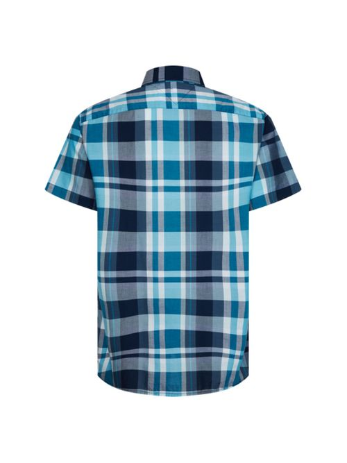 Camisa-de-manga-corta-con-cuadros-madras-Tommy-Hilfiger