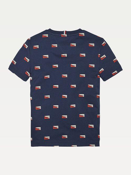 Camiseta-de-algodon-organico-con-estampado-de-logos