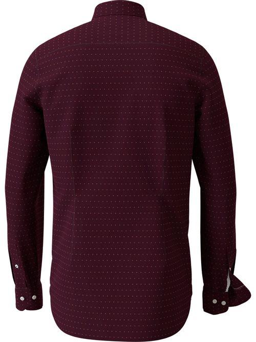 Camisa-estampada-de-algodon-dobby