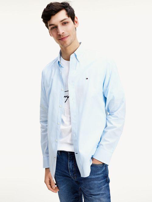 Camisa-de-rayas-en-popelin-de-algodon