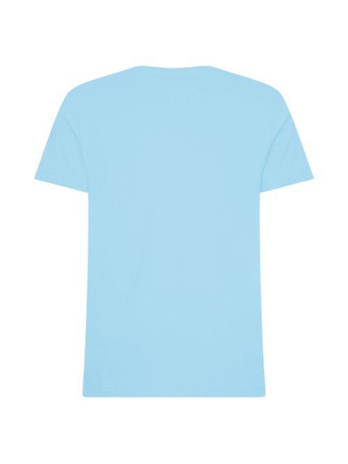 Camiseta-de-corte-regular-en-algodon--cuello-V