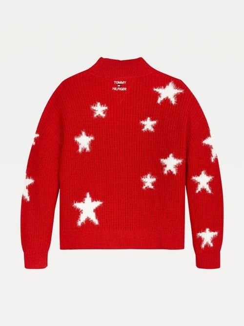 Jersey-de-cuello-perkins-con-estrellas