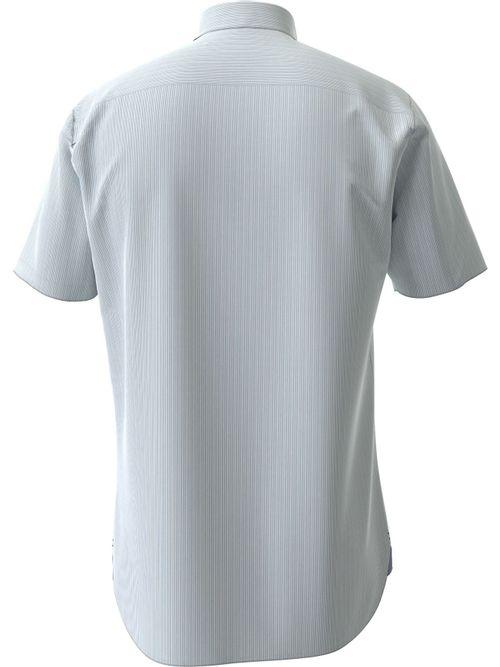 Camisa-Classica-de-rayas-con-manga-corta