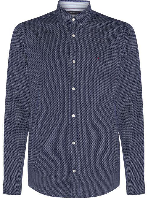 Camisa-TH-Flex-con-tejido-bicolor