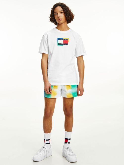 Camiseta-de-algodon-con-logo-de-Tommy