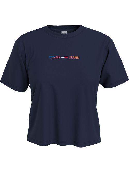 Camiseta-holgada-de-corte-cropped-con-logo