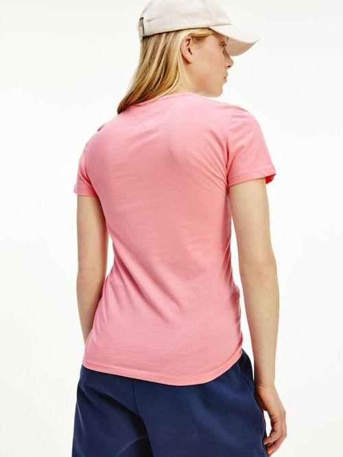 Camiseta-Essential-de-corte-skinny-con-logo