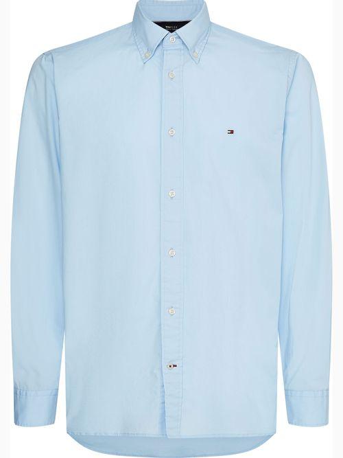 Camisa-Classica-solida-corte-regular