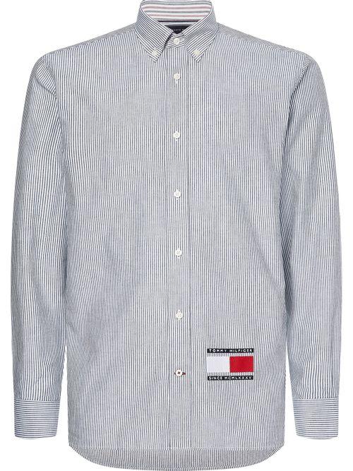 Camisa-con-estampado-de-rayas