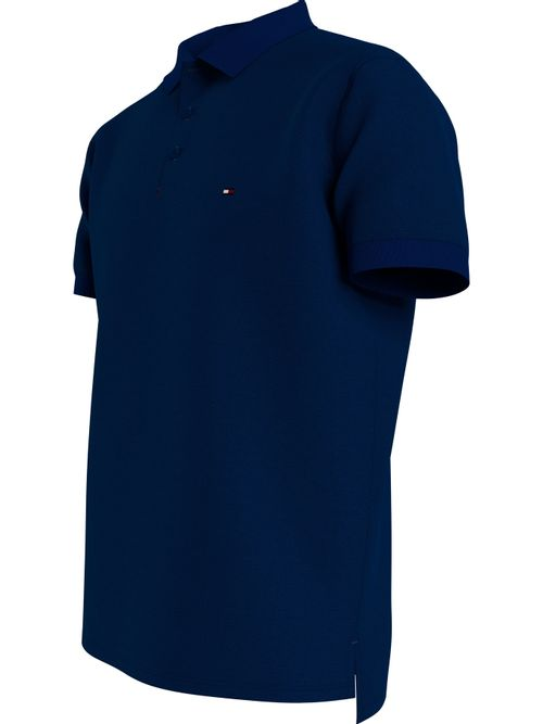 Polo-de-algodon-con-tapeta-distintiva