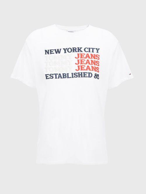 Camiseta-de-corte-amplio-con-logos