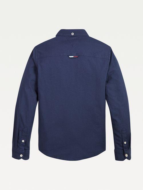 Camisa-Oxford-de-algodon-organico-elastico